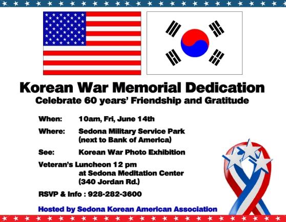 Korean Vetaran Dedication